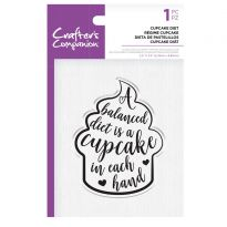 CC - Clear Acrylic Stamps - Cupcake Diet