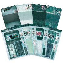 Teal Treasures Bookmark Cards