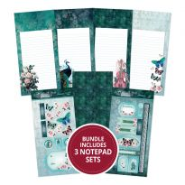 Teal Treasures - Build Your Own DL Notepad