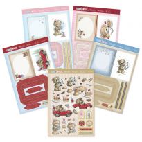Teddy Loves... Decoupage Book Concept Cards