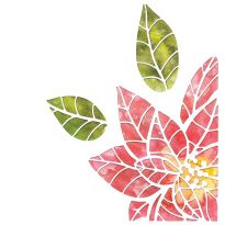 Sizzix Thinlits Die Set - Poinsettia Pieces by Tim Holtz