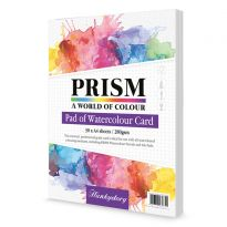 Prism Pad of Watercolour Card - A4 x 30 sheets