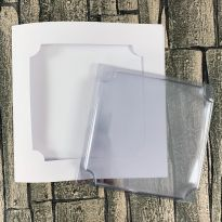 Dimensional Card Kit - Inverted Corner Square