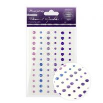 Diamond Sparkles Glitter Gemstones - Purple Sparkles