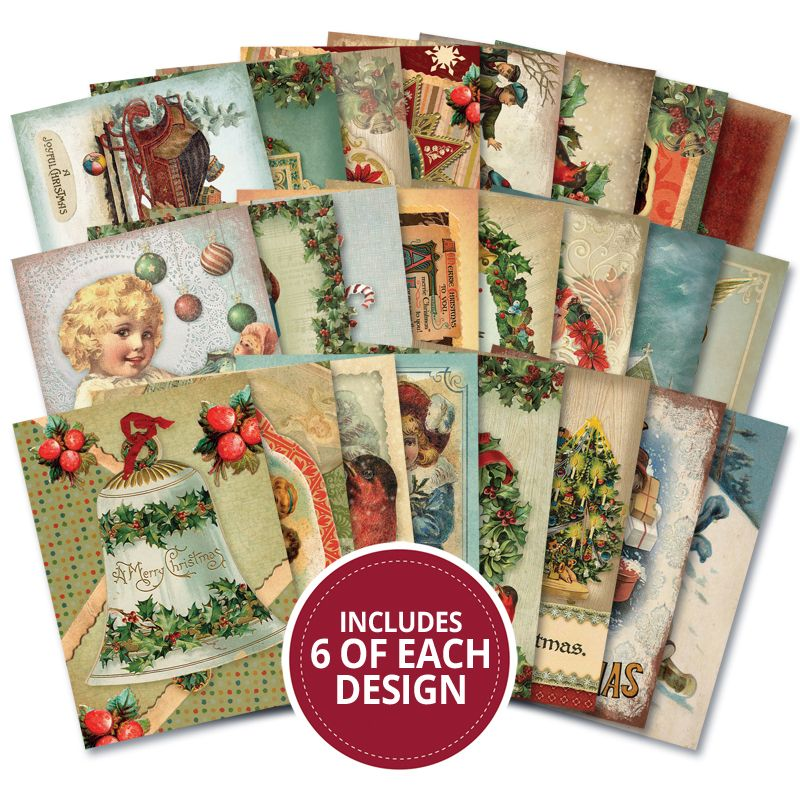 Hunkydory Little Book of Victorian Christmas 144 Pages LBK219