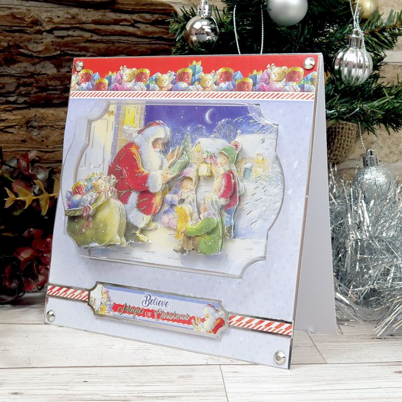 Hunkydory Crafts A Magical Christmas Time Deco-Large Storytime with Santa