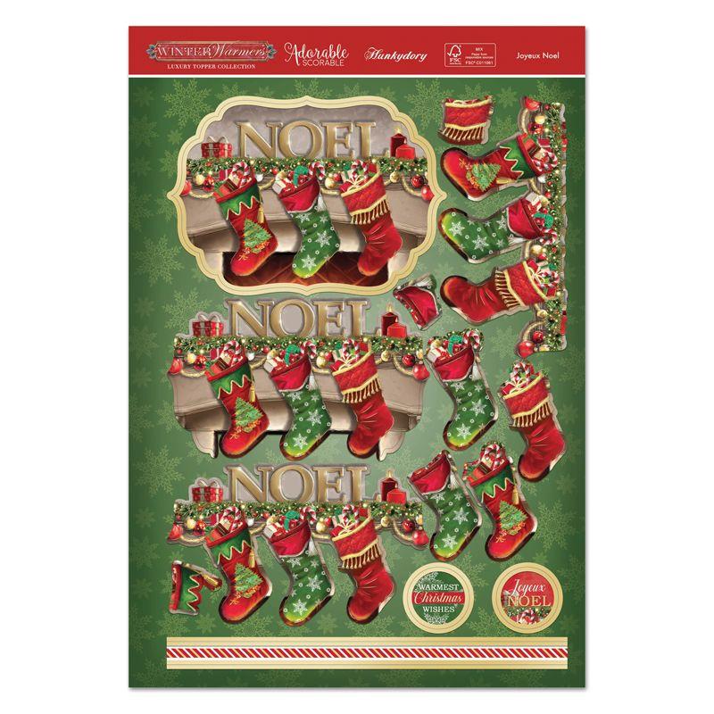 Joyeux Noel Twilight.Joyeux Noel Luxury Topper Set