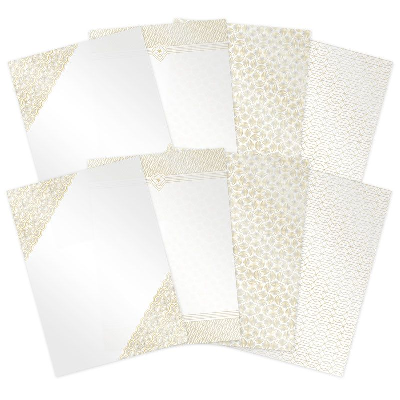 Festive Luxury Foiled Card Pad Hunkydory