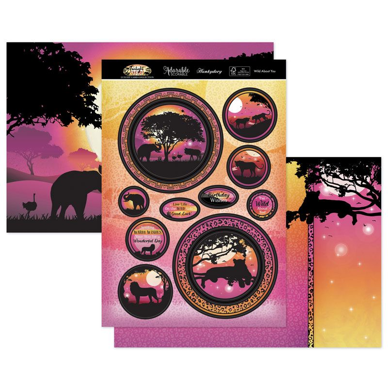 Hunkydory Crafts Wild About You Luxury Topper Set