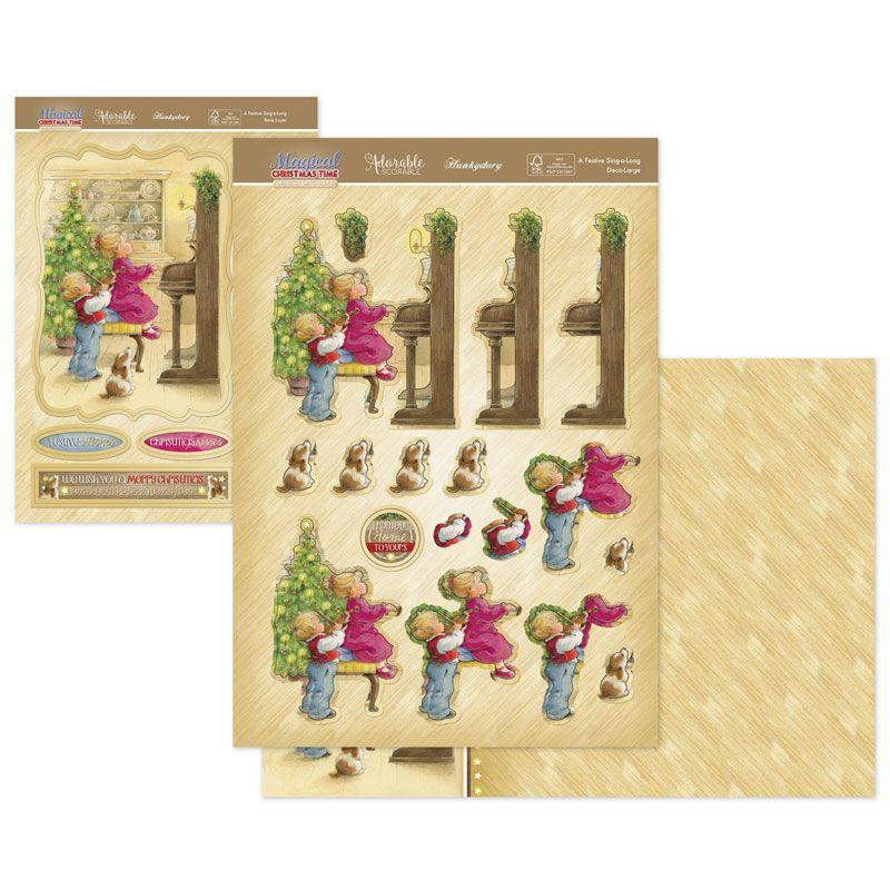 Hunkydory Crafts Deko-Kollektion A Magical Christmas Time