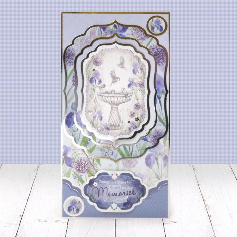 Hunkydory Crafts ARTGARD101 an Artists Garden Luxury Topper Collection