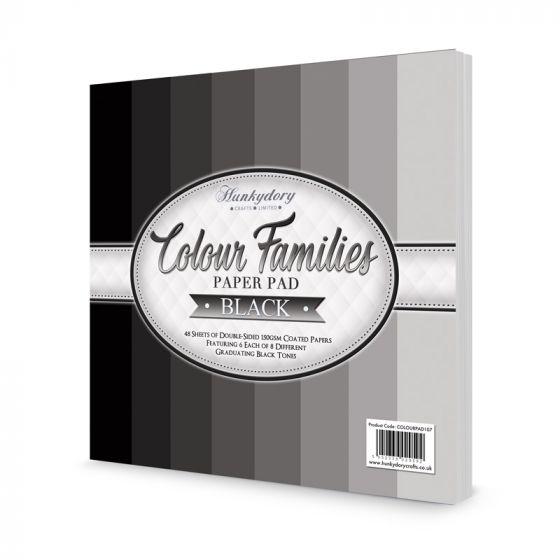 Colour Families Paper Pad - Black