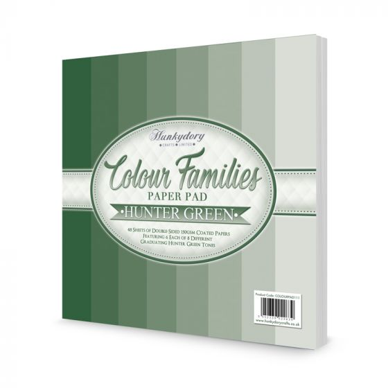 Colour Families Paper Pad - Hunter Green