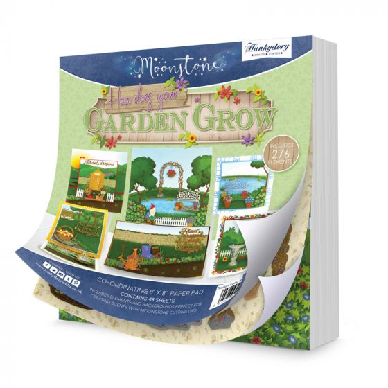 """How Does Your Garden Grow 8""""x8"""" Pad"""