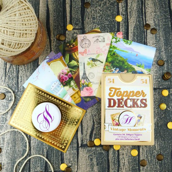 Vintage Moments Topper Deck