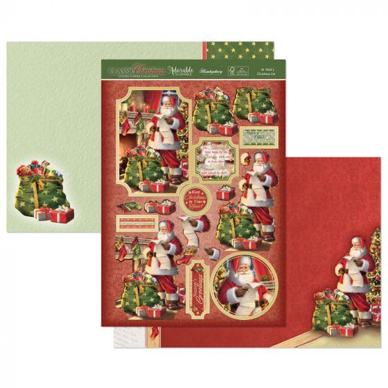 St Nick's Christmas List Luxury Topper Set