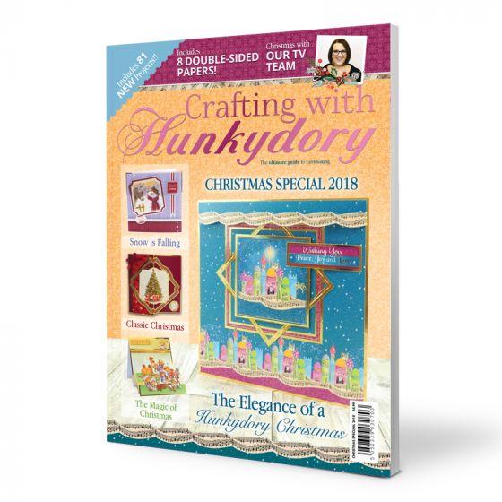 Crafting with Hunkydory Magazine - Christmas Edition 2018