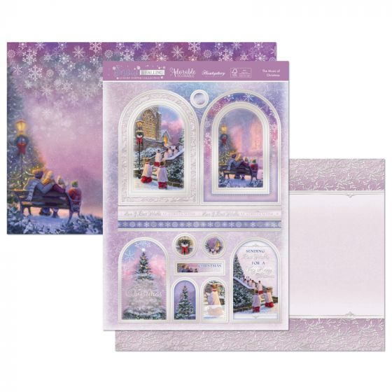 The Music of Christmas Luxury Topper Set