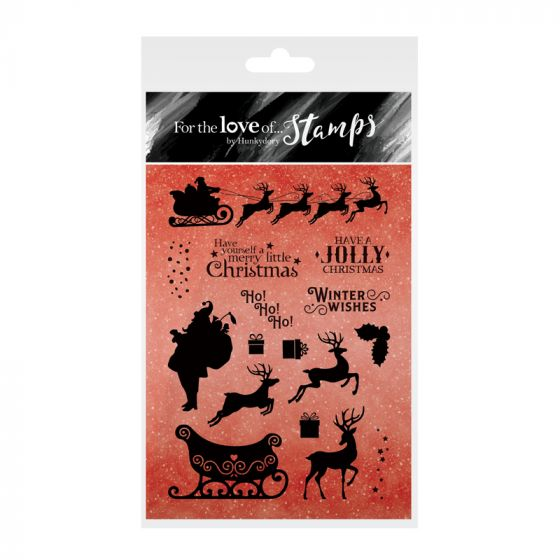 For the Love of Stamps - A Jolly Christmas