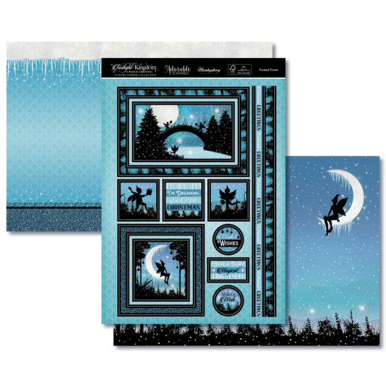 Twilight Kingdom - Luxury Topper Set - Frosted Forest