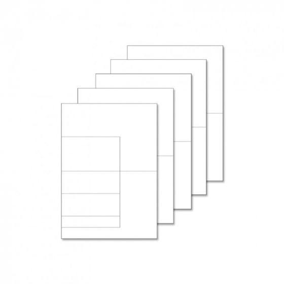 Fancy Shaped Card Blanks - A5 Side Stepper