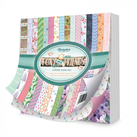 Foxy and Friends Speciality Paper Pad