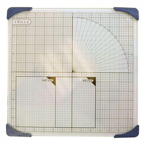 """Tonic Glass Mat - 13"""" Square"""