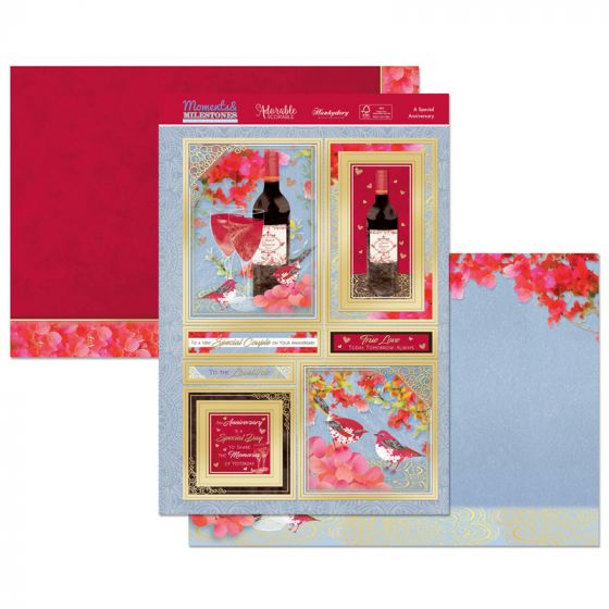 Moments & Milestones Luxury Topper Set - A Special Anniversary
