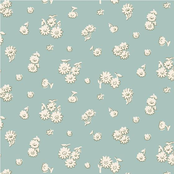 Liberty Fabric - Fat Quarter - Tumbling Daisy Y