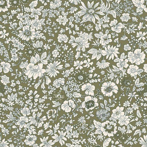 Liberty Fabric - Fat Quarter - Emily Silhouette T