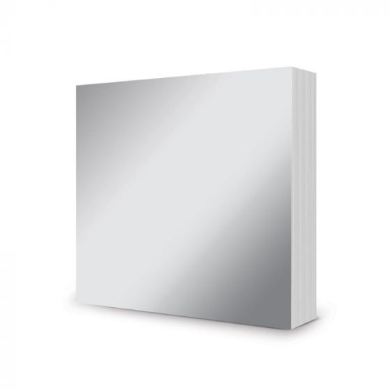 "5"" x 5"" Mirri Mats - Stunning Silver"