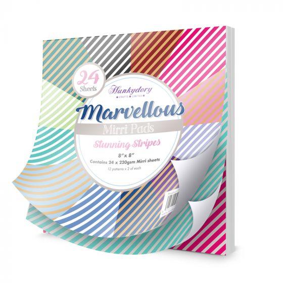 Marvellous Mirri Pad - Stunning Stripes