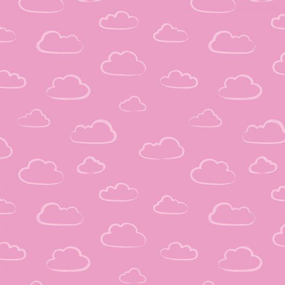 Stuart Hillard - Rainbow Etchings - Cloud on Bright pink
