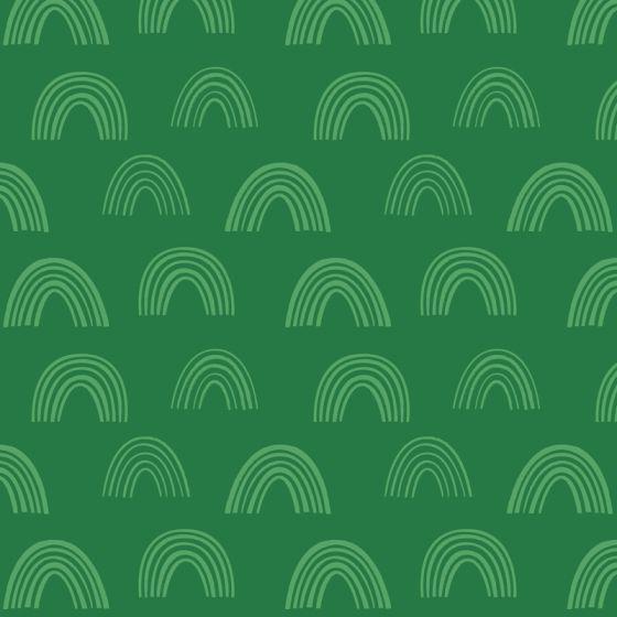 Stuart Hillard - Rainbow Etchings - Rainbow on Green