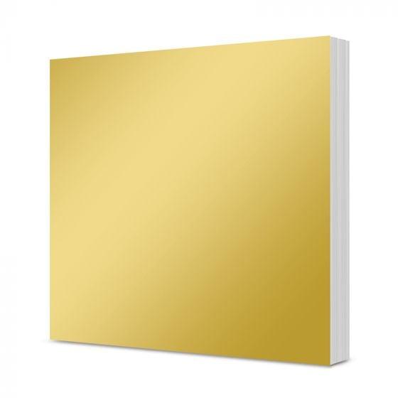 "Mirri Mats - Rich Gold 7"" x 7"" Block"