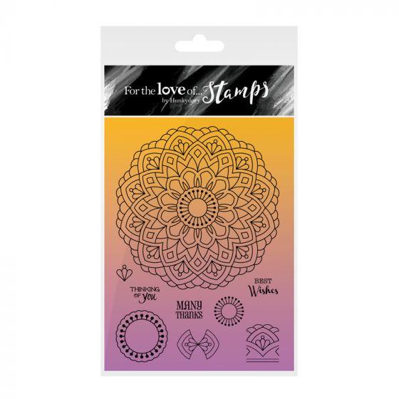 Kaleidoscopes Stamp - Perfect Petals