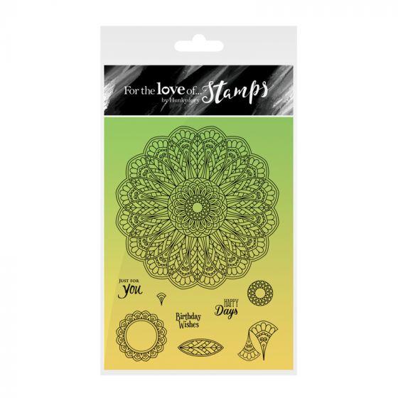 Kaleidoscopes Stamp - Lavish Leaves