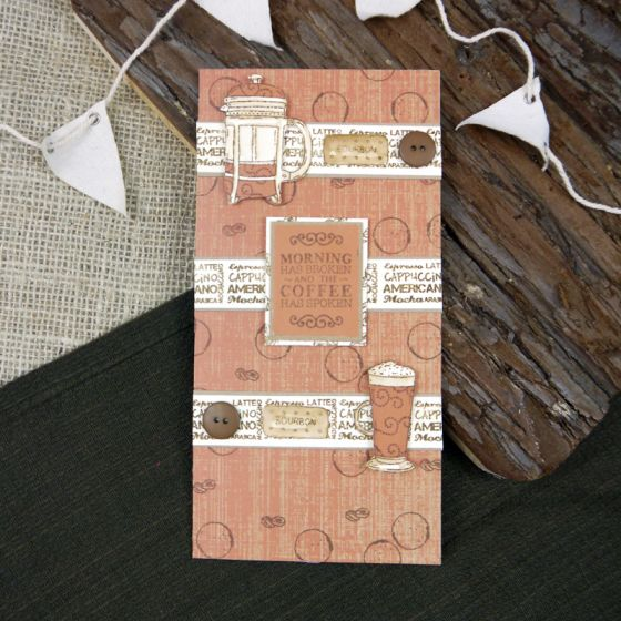 Superior Stamping Card - Ivory