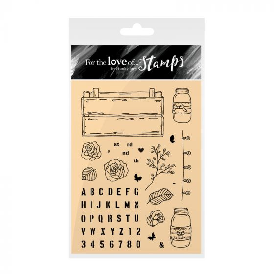 Clear Stamps | A Crate Full of Love