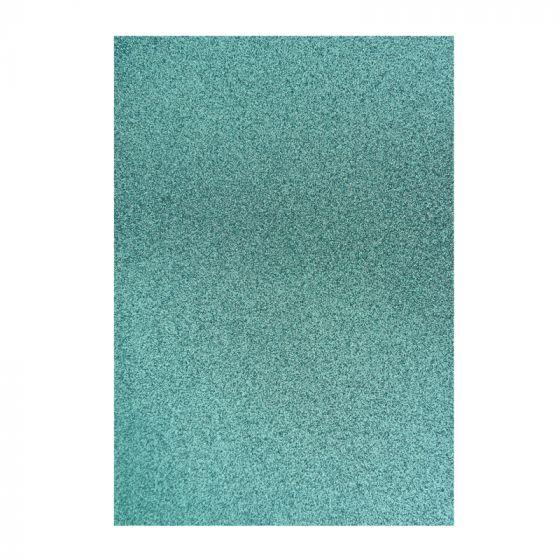 Glitter Card - Light Blue