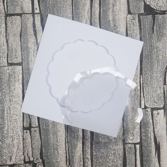 Dimensional Card Kit - Scalloped Circle