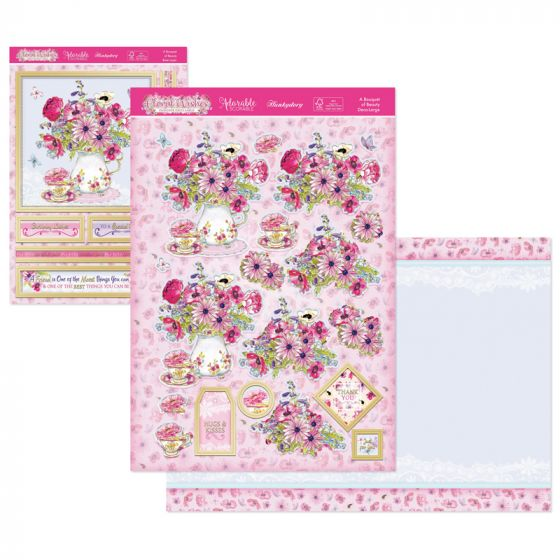 Floral Wishes Designer Deco-Large - A Bouquet of Beauty