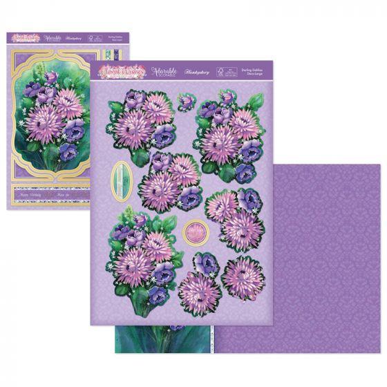 Floral Wishes Designer Deco-Large - Darling Dahlias