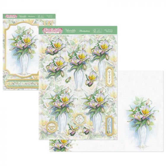 Floral Wishes Designer Deco-Large - Lilies with Love