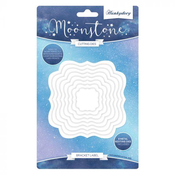 Moonstone Nesting Dies - Bracket Label