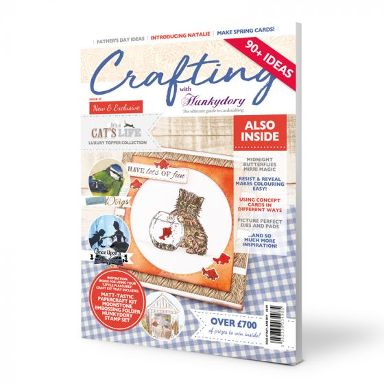 Crafting with Hunkydory Project Magazine - Issue 47