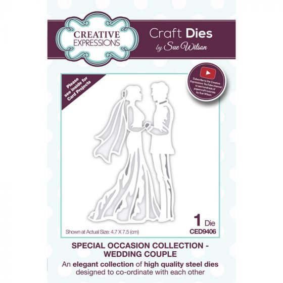 Special Occasions Collection Wedding Couple x 1 die