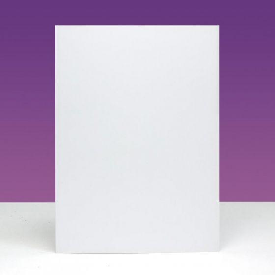 """Pre-scored Card Blanks - 7"""" x 5"""" - Dove White"""