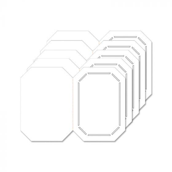 Fancy Shaped Card Blanks - A5 Fancy Octagon