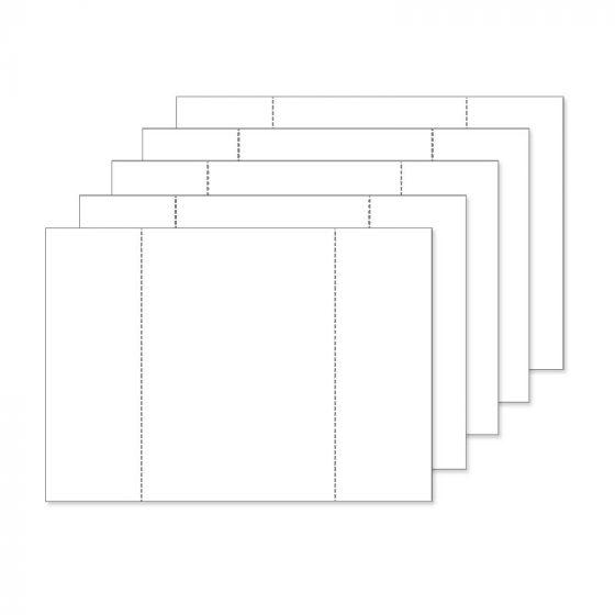 Fancy Shaped Card Blanks - A5 Centre-Fold